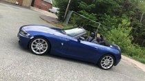 Hết đam mê cần bán BMW Z4 2007 nhập Mỹ, số tự động, màu xanh