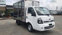 Bán xe Thaco Kia Frontier K200 2019, màu trắng, giá chỉ 335 triệu, trả trước 120tr nhận xe, LH 0938903292