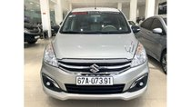 Bán xe Suzuki Ertiga 1.4 AT 2018 màu bạc, trả trước chỉ từ 138 triệu