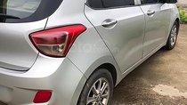 Cần bán gấp Hyundai Grand i10 1.0 MT năm 2015, màu bạc, xe nhập xe gia đình