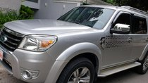 Bán Ford Everest Limited máy dầu 2.5 số tự động model 2010, SX T12/2009, màu bạc mới 70%