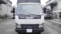 Bán xe tải Isuzu 1.9 tấn thùng mui bạt dài 3m5, xe mới 2019 | QKRF 230