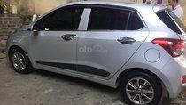 Bán Hyundai Grand i10 1.2 AT đời 2015, màu bạc, xe nhập