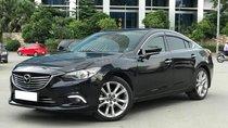 Cần bán xe Mazda 6 sản xuất 2014, số tự động, máy xăng, màu đen