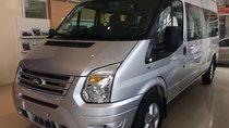 Ford Transit 2019 new, (tặng ghế da, bọc da 5D, lót sàn), HT vay 90%, lãi suất 0.6% - LH 090909.9106