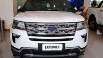 Bán Ford Explorer sản xuất 2019, màu trắng, nhập khẩu