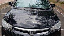 Bán Honda Civic 2.0AT 2007, màu đen, nhập khẩu, số tự động