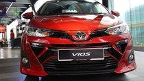 Toyota Vios đời 2019 giá cực tốt, giao xe ngay, hỗ trợ trả góp lên tới 85% giá trị xe