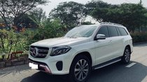 Mercedes Ben GLS400 2 cầu, màu trắng, sản xuất 2017, biển Hà Nội