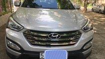 Cần bán Hyundai Santa Fe năm 2013, màu bạc, xe nhập
