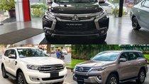 Toyota Fortuner, Mitsubishi Pajero Sport và Ford Everest: Xe nào vận hành tốt?