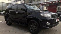 Bán Toyota Fortuner 2.5G 4x2MT đời 2015, màu đen