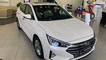 Bán Hyundai Elantra 1.6AT trắng+ Tặng ngay bảo hiểm vật chất+ Hỗ trợ góp 100%