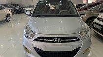 Cần bán xe Hyundai Grand i10 đời 2011, màu bạc, nhập khẩu số sàn, 185 triệu