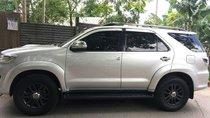 Cần bán gấp Toyota Fortuner sản xuất 2016, màu bạc xe gia đình