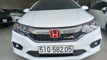 Bán Honda City 1.5CVT sản xuất 2018, màu trắng biển Tp HCM, giá 540 triệu