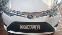 Cần bán lại xe Toyota Vios MT đời 2015, màu trắng, giá chỉ 333 triệu