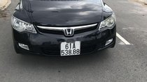 Bán xe Honda Civic đời 2008, màu đen, 360 triệu