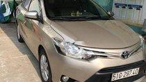Bán Toyota Vios 2017, màu vàng, xe nhập số sàn