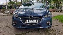Cần bán Mazda 3 1.5AT Hatchback đời 2016, màu xanh lam, giá 560tr