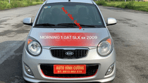 Cần bán Kia Morning 1.0AT sản xuất 2009, màu bạc, xe nhập