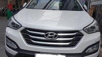 Hãng bán Santa Fe 2WD 2014, màu trắng, đúng chất, giá TL, hỗ trợ góp