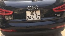 Bán Audi Q3 năm sản xuất 2014, màu đen, nhập khẩu nguyên chiếc