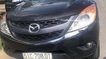 Cần bán Mazda BT 50 2015, màu đen, nhập khẩu, giá 540tr