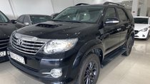 Cần bán Toyota Fortuner 2.5G 2016, màu đen