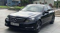 Bán ô tô Mercedes C200 đời 2013, màu đen, xe nhập