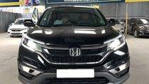 Bán xe Honda CR V 2.4AT, bản TG, màu đen, SX 2016 đăng ký 2017, biển SG