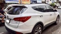 Hãng bán Santafe full xăng 2015, màu trắng, biển TP, giá TL, hỗ trợ góp