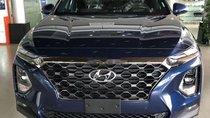 Cần bán Hyundai Santa Fe năm sản xuất 2019, màu xanh lam