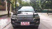 Xe Toyota Land Cruiser VX 4.6 V8 sản xuất 2017, màu đen, nhập khẩu như mới