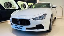 Cần bán lại xe Maserati Ghibli 3.0 V6 năm 2016, màu trắng, nhập khẩu