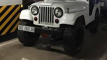 Bán xe Jeep CJ năm sản xuất 1990, màu trắng, nhập khẩu, giá 139tr