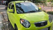 Cần bán lại xe Kia Morning SLX 1.0 AT đời 2010, màu xanh lam, nhập khẩu nguyên chiếc