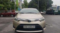 Bán Toyota Vios năm sản xuất 2014, màu vàng cát
