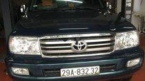 Chính chủ bán Toyota Land Cruiser GX năm 2004, màu xanh dưa
