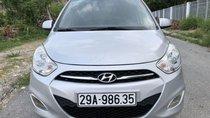Bán Hyundai i10 năm sản xuất 2013, màu bạc, nhập khẩu Hàn Quốc, bản đủ