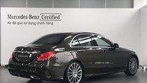 Cần bán Mercedes-Benz C300 2017 AMG màu nâu, nội thất đen, 17.000 km