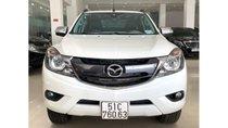 Bán Mazda BT 50 2.2 AT đời 2016, màu trắng, trả trước chỉ từ 162 triệu, hotline 0985.190491 Ngọc