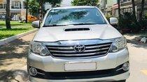 Bán Toyota Fortuner bạc, máy dầu 2016, số sàn, xe chính chủ đi kỹ
