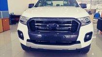 Bán Ford Ranger Wildtrak Bi Turbo đời 2019, màu trắng, nhập khẩu, khuyến mãi 60tr