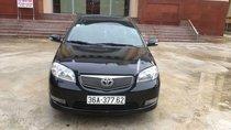 Cần bán lại Toyota Vios đời 2005, màu đen, 152tr