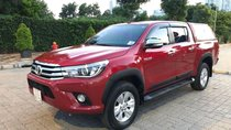 Bán xe Toyota Hilux AT 2017, màu đỏ, xe nhập số tự động, giá chỉ 700 triệu