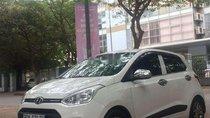 Cần bán gấp Hyundai Grand i10 AT 2014, màu trắng, nhập khẩu