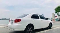 Cần bán Toyota Corolla Altis đời 2002, màu trắng, nhập khẩu