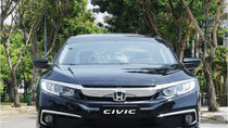 Honda Civic 2019, xe mới giao ngay, trả trước 163tr góp 12tr/tháng, giảm giá mạnh tháng 8