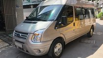 Bán Ford Transit 2018 máy dầu, số sàn, màu ghi xám, xe không kinh doanh